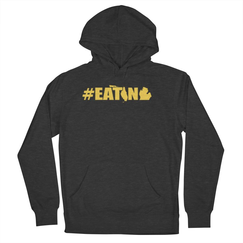 FL TO MI #EATING Men's French Terry Pullover Hoody by Plant a Seed