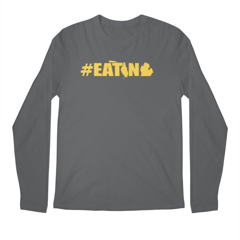 FL TO MI #EATING Men's Regular Longsleeve T-Shirt by Plant a Seed