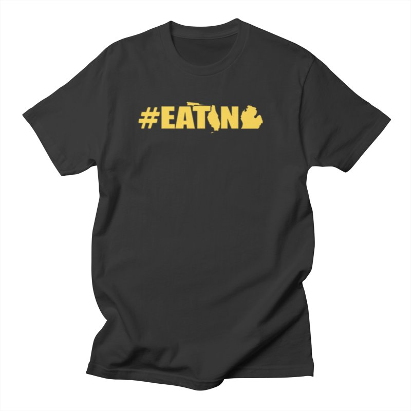 FL TO MI #EATING Men's Regular T-Shirt by Plant a Seed