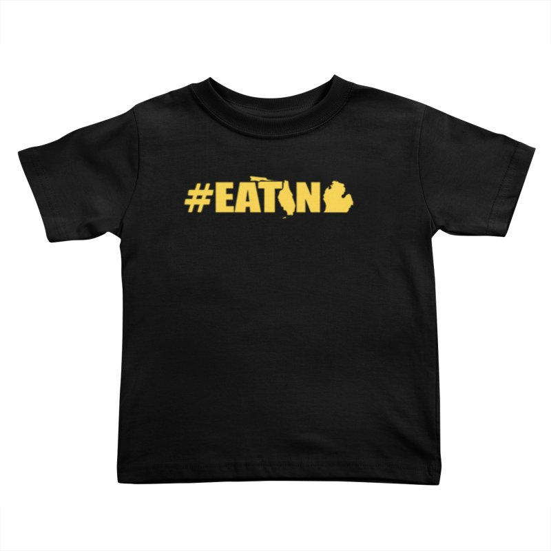 FL TO MI #EATING Kids Toddler T-Shirt by Plant a Seed