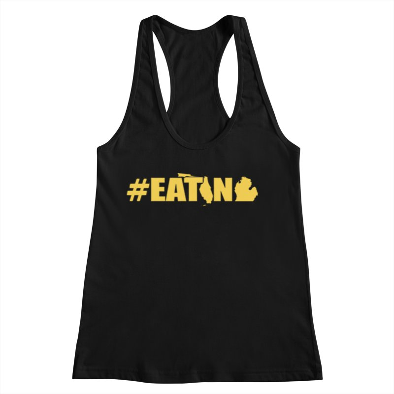 FL TO MI #EATING Women's Racerback Tank by Plant a Seed