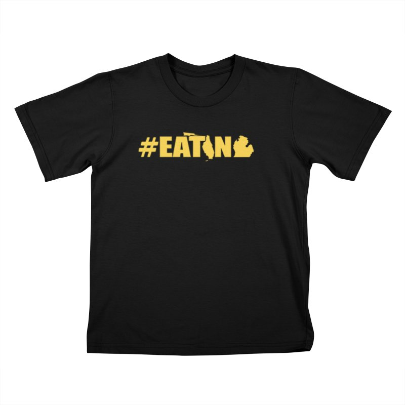 FL TO MI #EATING Kids T-Shirt by Plant a Seed