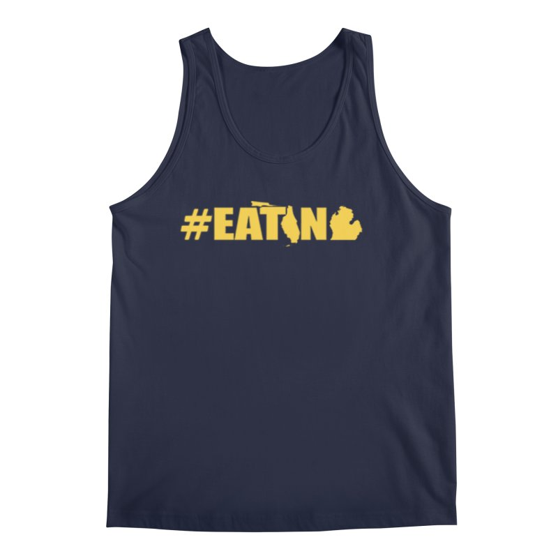 FL TO MI #EATING Men's Regular Tank by Plant a Seed