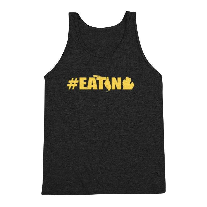 FL TO MI #EATING Men's Triblend Tank by Plant a Seed