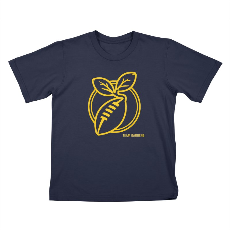 Football Sprout Kids T-Shirt by Plant a Seed