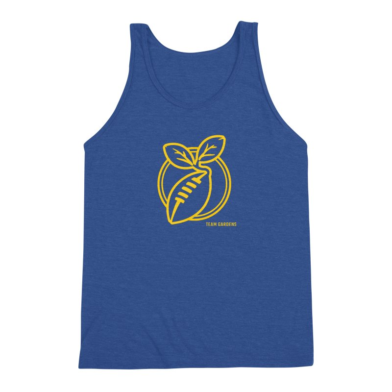 Football Sprout Men's Triblend Tank by Plant a Seed