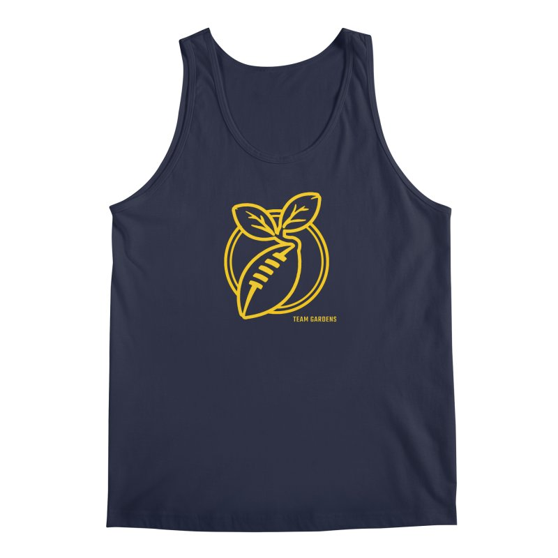 Football Sprout in Men's Regular Tank Navy by Plant a Seed