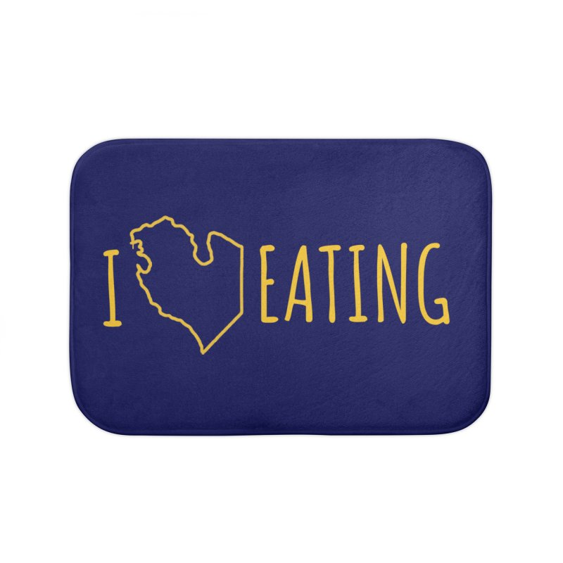I MI EATING Home Bath Mat by Plant a Seed
