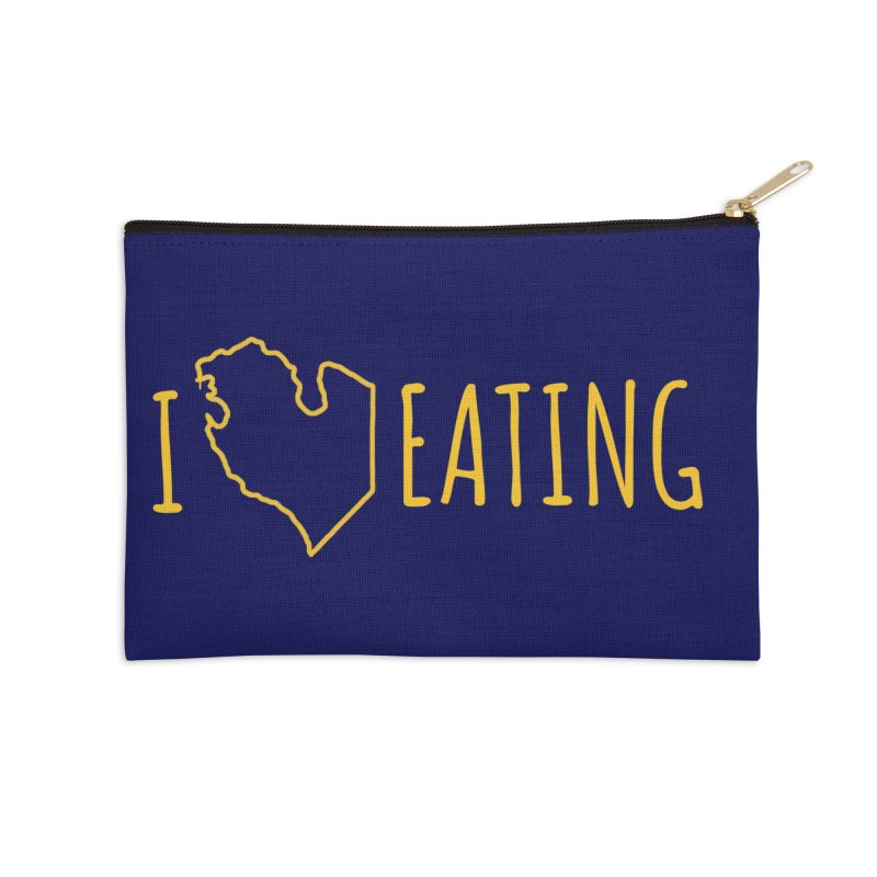 I MI EATING Accessories Zip Pouch by Plant a Seed