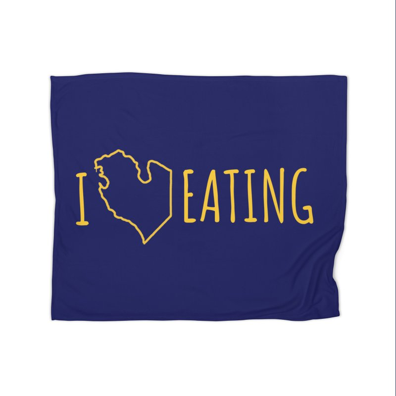 I MI EATING Home Fleece Blanket Blanket by Plant a Seed