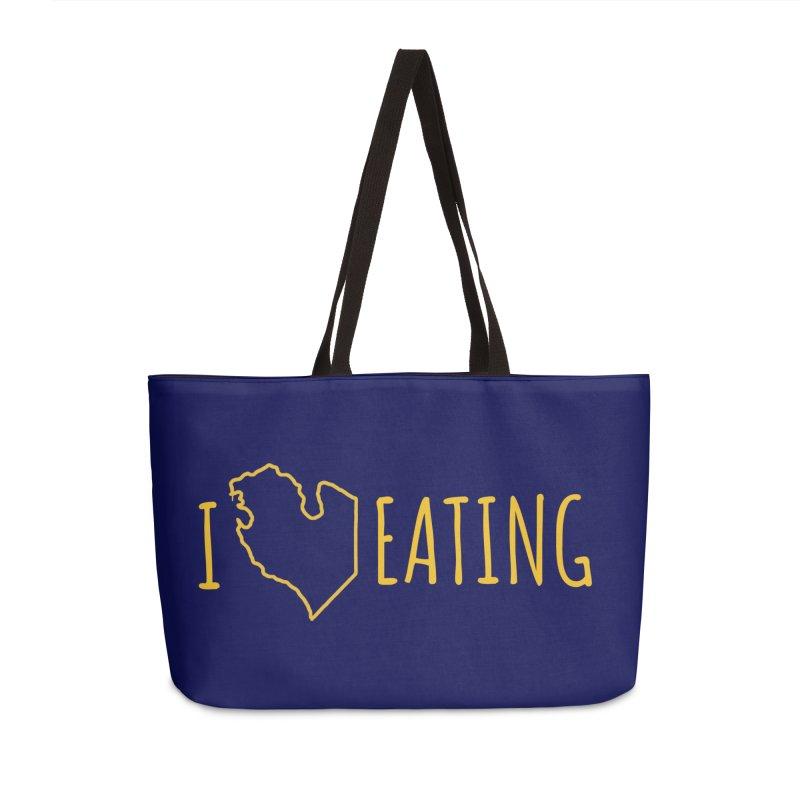 I MI EATING Accessories Weekender Bag Bag by Plant a Seed