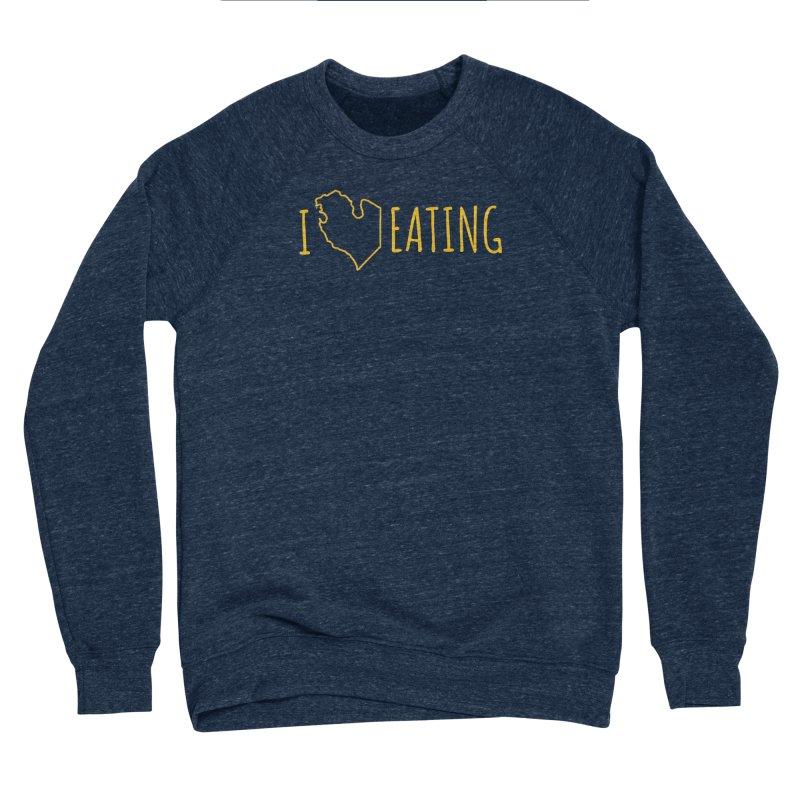 I MI EATING Men's Sponge Fleece Sweatshirt by Plant a Seed