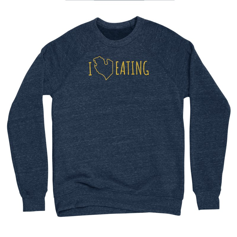 I MI EATING Women's Sponge Fleece Sweatshirt by Plant a Seed