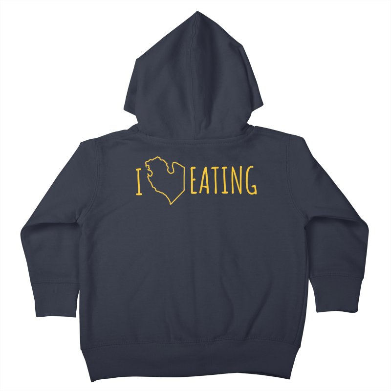I MI EATING Kids Toddler Zip-Up Hoody by Plant a Seed
