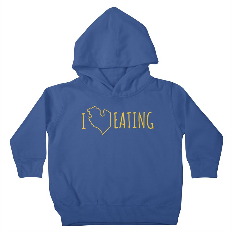 I MI EATING Kids Toddler Pullover Hoody by Plant a Seed