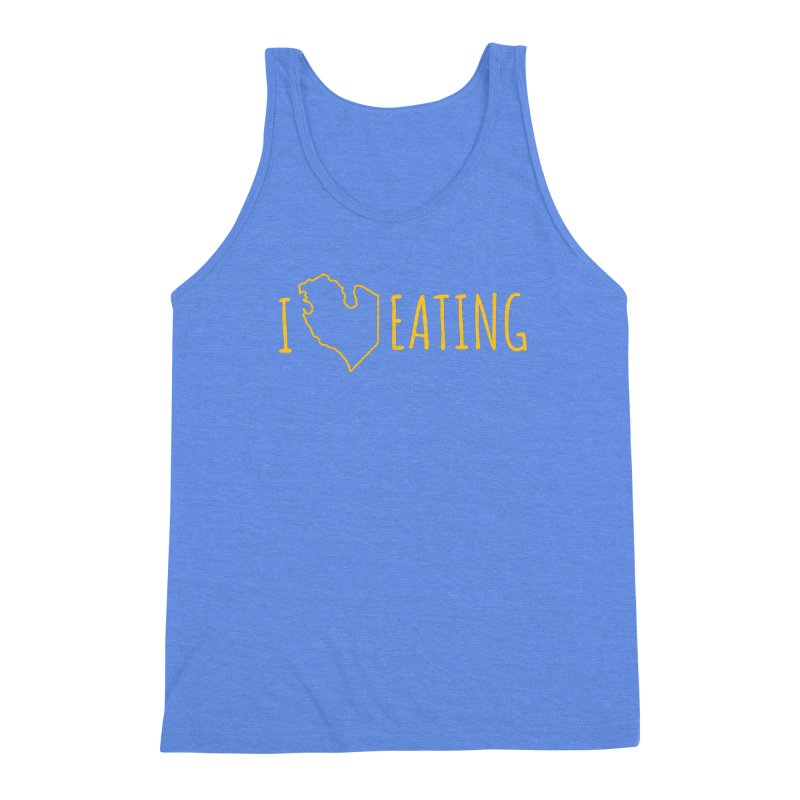 I MI EATING Men's Triblend Tank by Plant a Seed