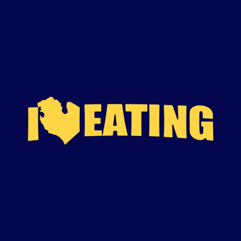 I <3 MI EATING Men's T-shirt by Plant a Seed