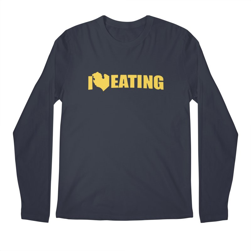 I <3 MI EATING Men's Longsleeve T-Shirt by Plant a Seed