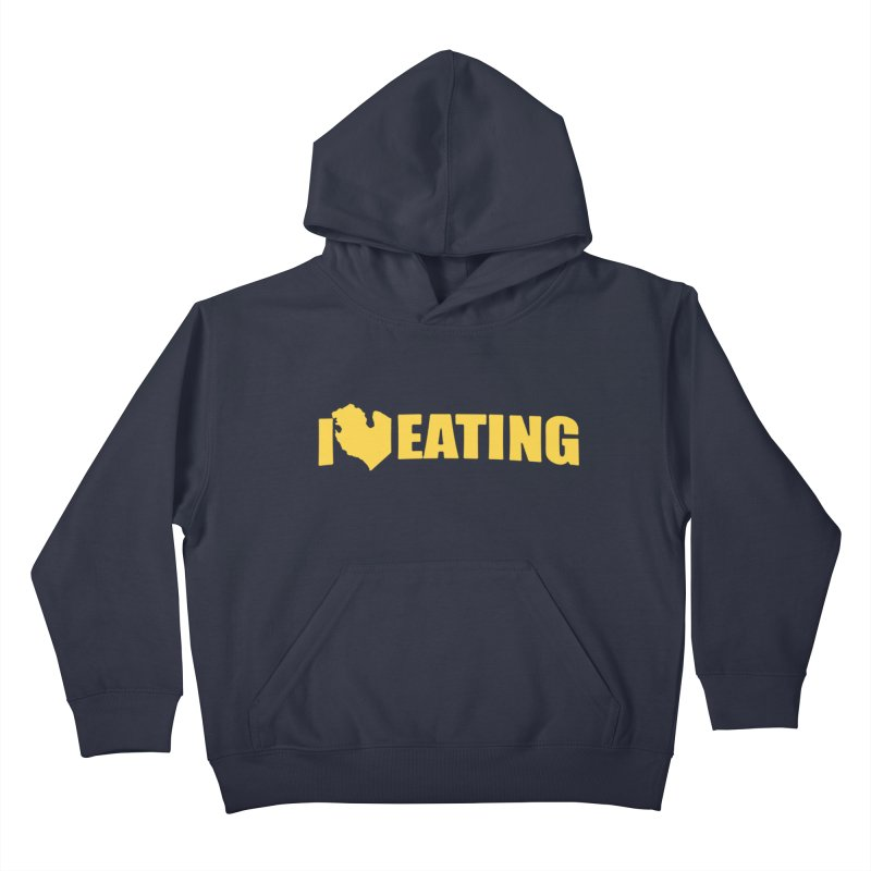 I <3 MI EATING Kids Pullover Hoody by Plant a Seed