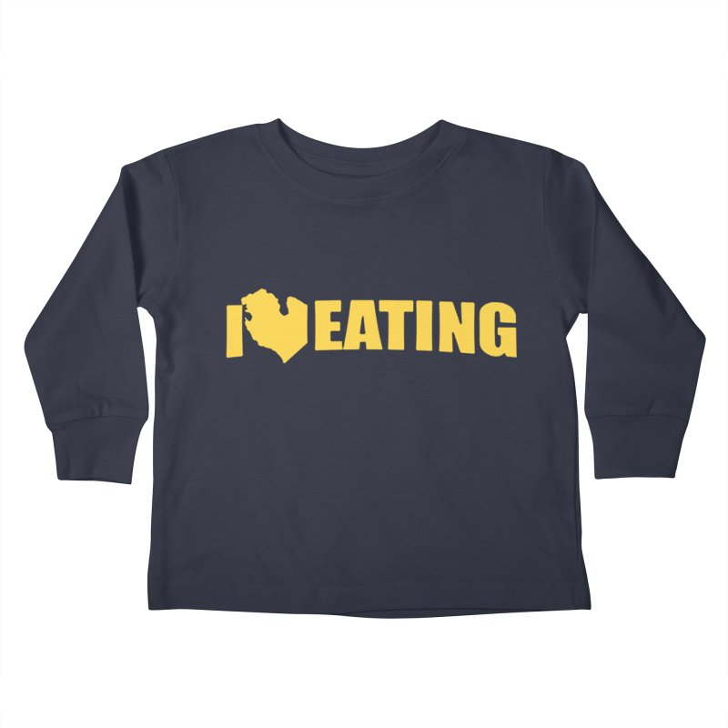 I <3 MI EATING Kids Toddler Longsleeve T-Shirt by Plant a Seed