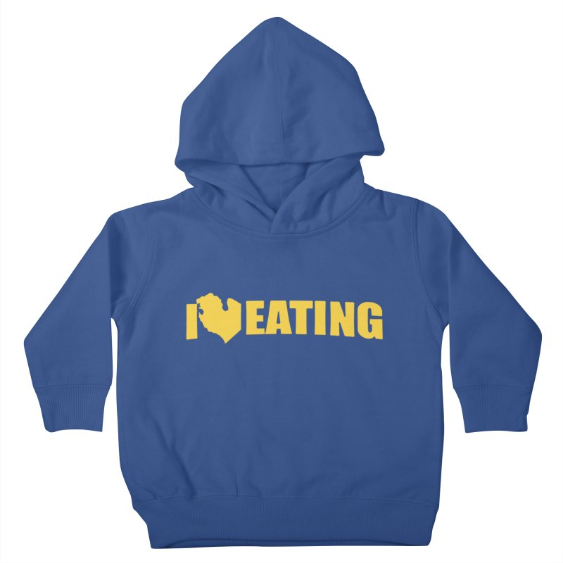 I <3 MI EATING Kids Toddler Pullover Hoody by Plant a Seed