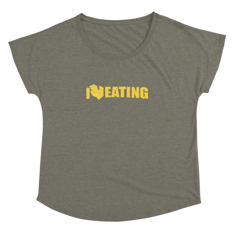 I <3 MI EATING Women's Dolman by Plant a Seed