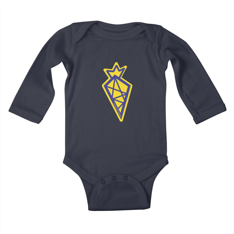 #EATING CARROT Kids Baby Longsleeve Bodysuit by Plant a Seed