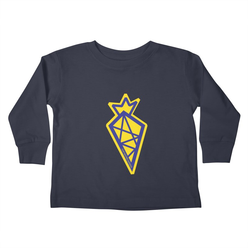 #EATING CARROT Kids Toddler Longsleeve T-Shirt by Plant a Seed
