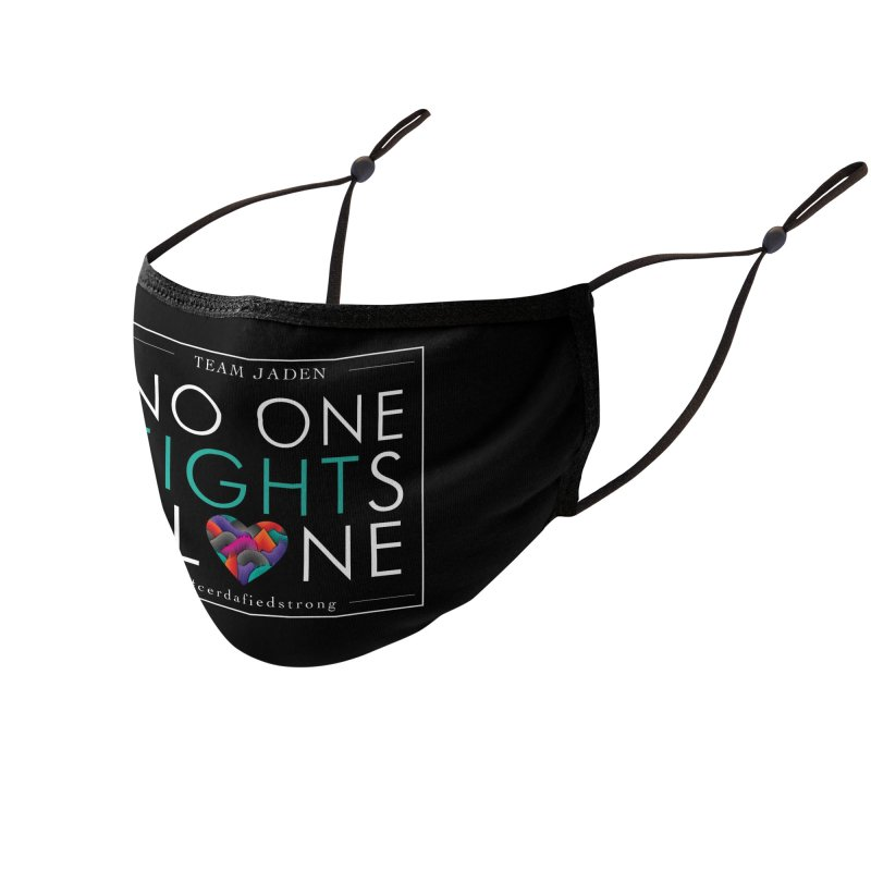 No One Fights Alone Accessories Face Mask by teamjaden's Artist Shop