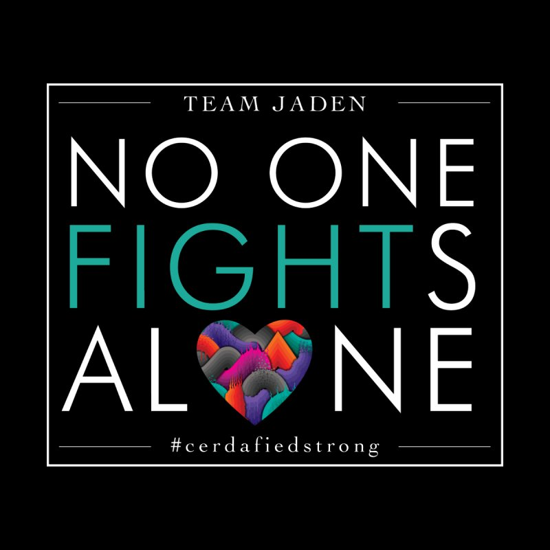 No One Fights Alone Women's Scoop Neck by teamjaden's Artist Shop