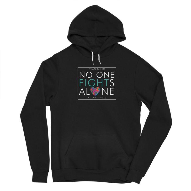 No One Fights Alone Men's Pullover Hoody by teamjaden's Artist Shop