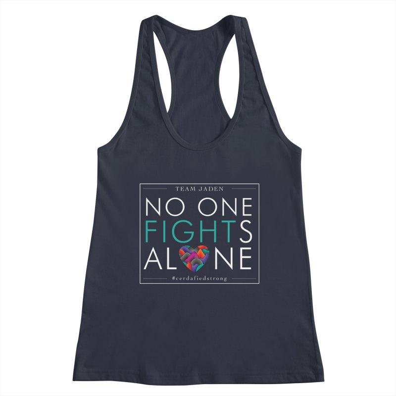 No One Fights Alone Women's Tank by teamjaden's Artist Shop