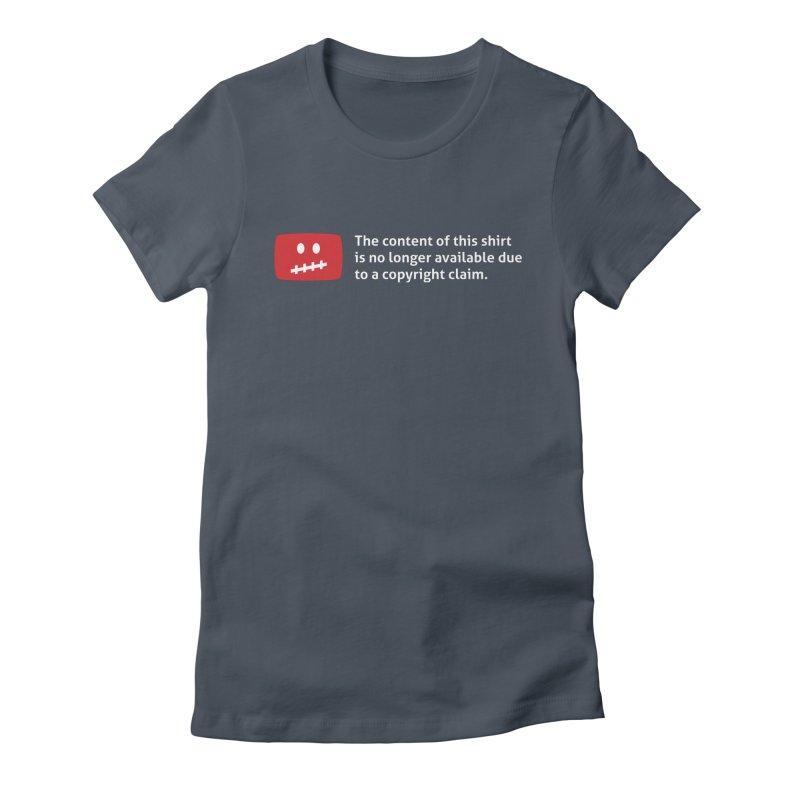 Takedown Women's T-Shirt by Techdirt Gear