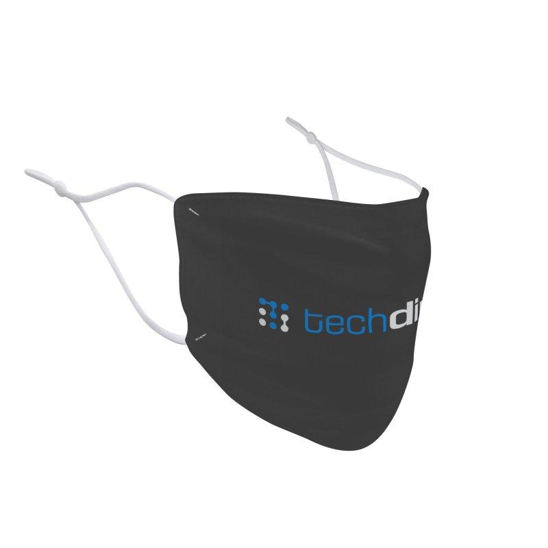 Techdirt Logo Accessories Face Mask by Techdirt Gear