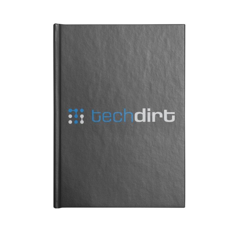 Techdirt Logo Accessories Notebook by Techdirt Gear