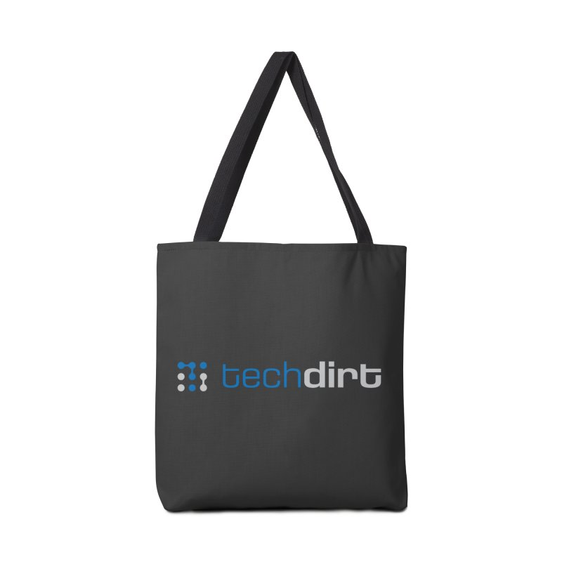 Techdirt Logo Accessories Bag by Techdirt Gear