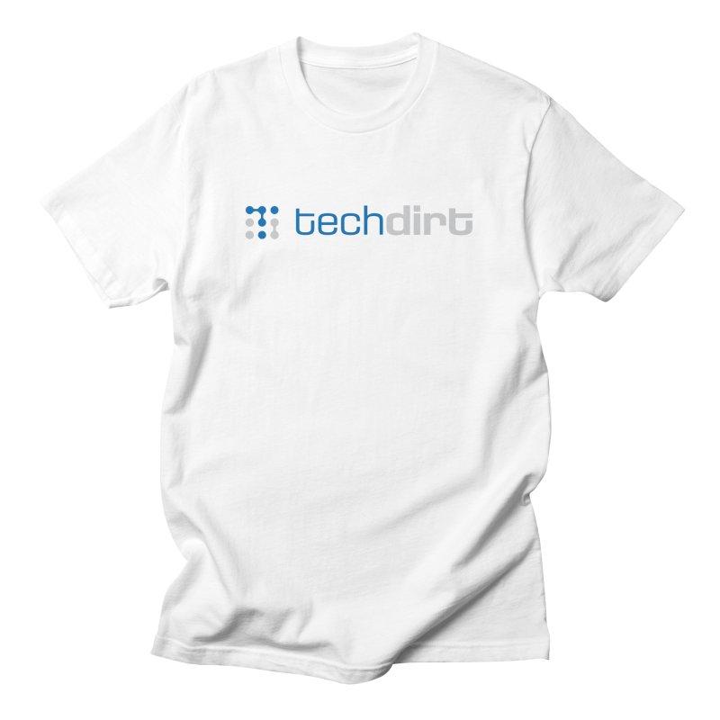 Techdirt Logo Men's T-Shirt by Techdirt Gear