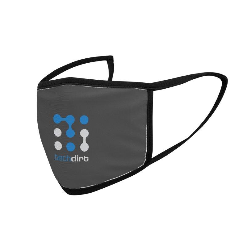 Big Techdirt Logo Accessories Face Mask by Techdirt Gear