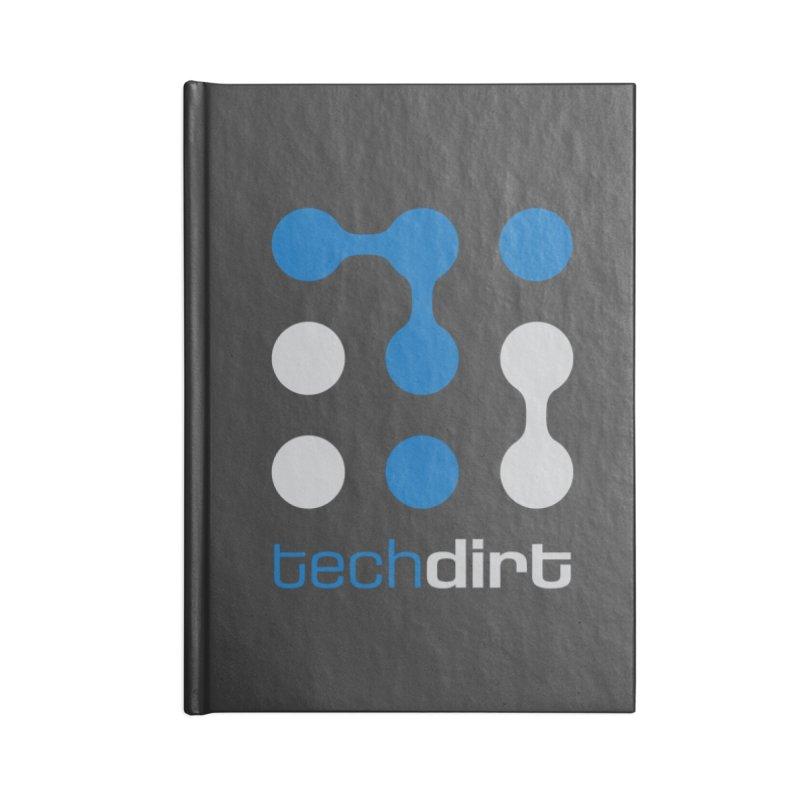 Big Techdirt Logo Accessories Notebook by Techdirt Gear