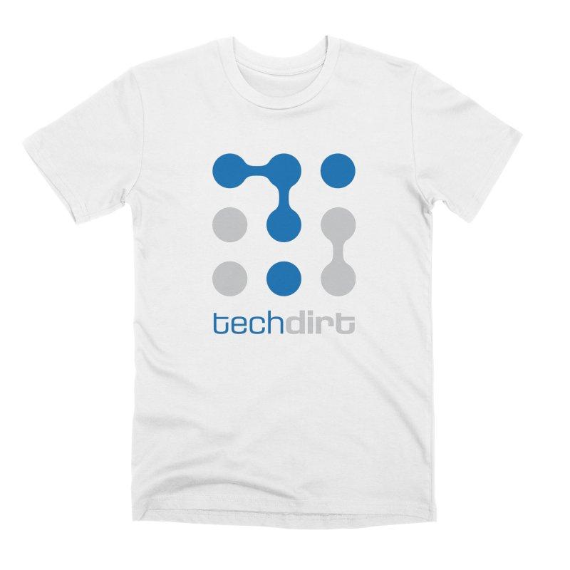 Big Techdirt Logo Men's T-Shirt by Techdirt Gear