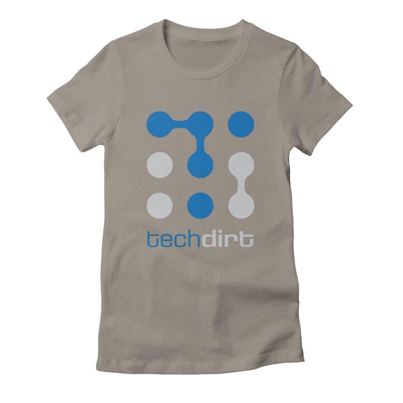 Big Techdirt Logo Women's T-Shirt by Techdirt Gear