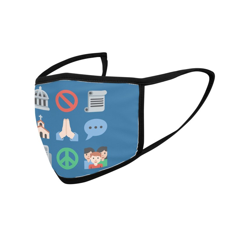 First Emojiment Accessories Face Mask by Techdirt Gear