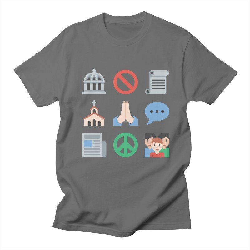 First Emojiment Men's T-Shirt by Techdirt Gear