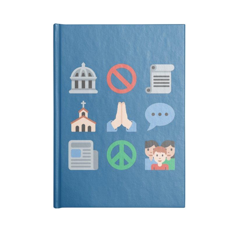 First Emojiment Accessories Notebook by Techdirt Gear