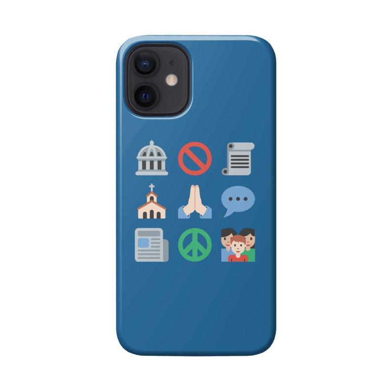 First Emojiment Accessories Phone Case by Techdirt Gear