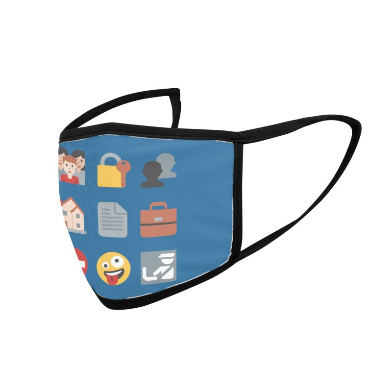 Fourth Emojiment Accessories Face Mask by Techdirt Gear