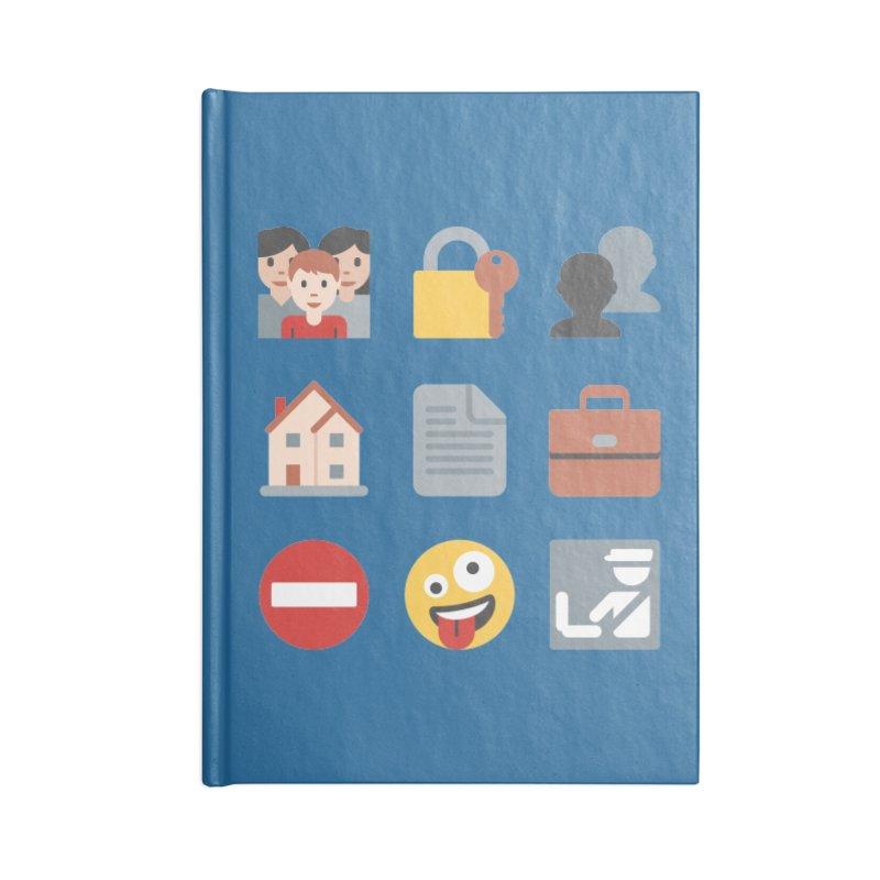 Fourth Emojiment Accessories Notebook by Techdirt Gear