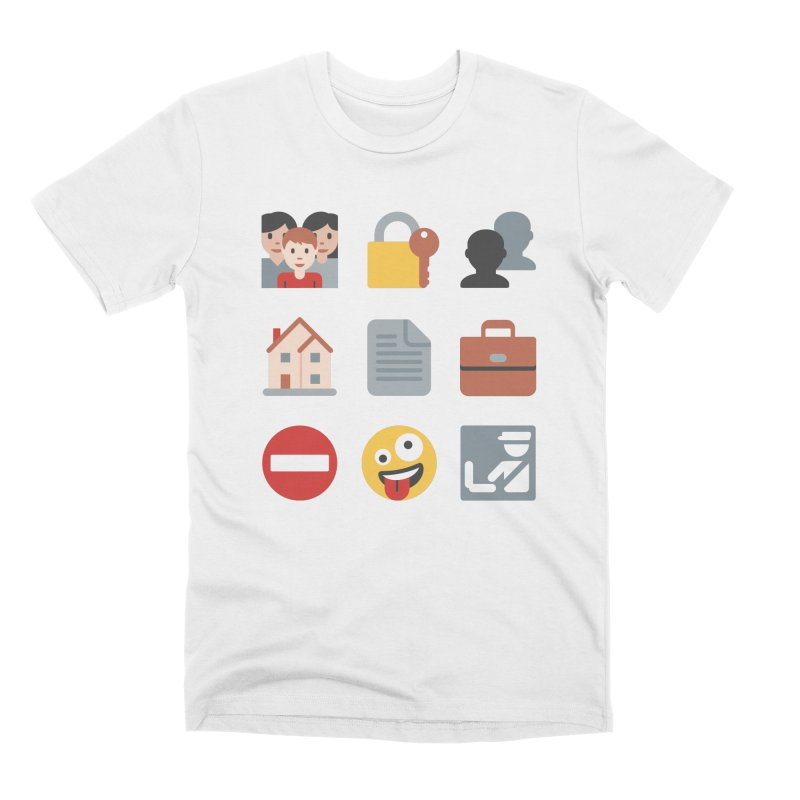 Fourth Emojiment Men's T-Shirt by Techdirt Gear