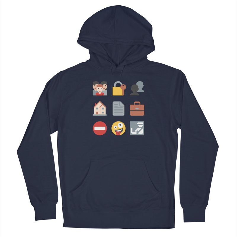 Fourth Emojiment Men's Pullover Hoody by Techdirt Gear