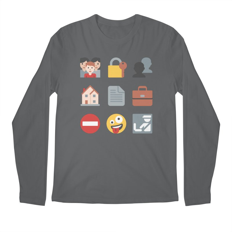 Fourth Emojiment Men's Longsleeve T-Shirt by Techdirt Gear